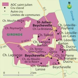 Savoir conserver ses bouteilles de Saint-Julien